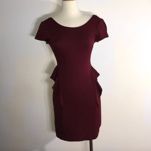 NWOT Zara Trafaluc Brazilian Open-Back Dress